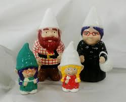 gnomes garden or indoor gnome couple