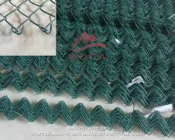 Pvc Coated Chain Link Fence Protecting Your Property