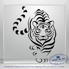 Tiger Decal Lion Cute Puma Funny Auto Car Bumper Window Vinyl Sticker Laptop Ebay