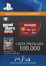 grand theft auto red shark cash