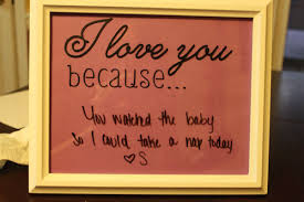 I Love You Because Wall Decals Trading Phrases