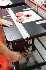Iwf Alert Router Table Systems Shine At The Show Finewoodworking