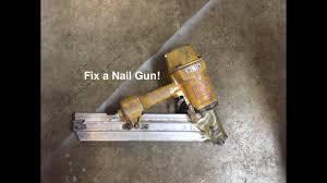 how to fix a nail gun you