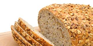 multi grain bread with sesame flax and