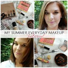 beauty my summer everyday makeup look