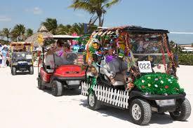 easter at ocean reef golf cart