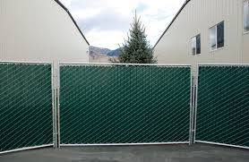 Green Privacy Slat Panel Rentals Temporary Event Fences Event Factory Rentals