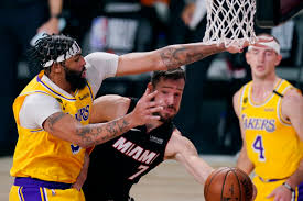 Miami Heat reeling after injury-plagued blowout loss to Lakers in Game 1 –  Orange County Register