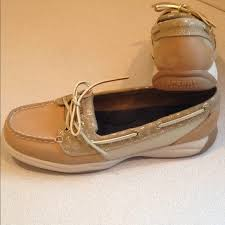 sperry shoes women anchor leather top