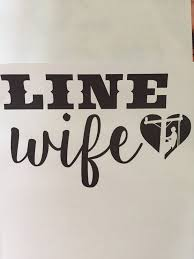 Linewife Vinyl Decal Lineman Love Supply Co Line Life Supply Co