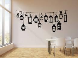 Vinyl Wall Decal Abstract Decorative Street Lamp Lighting Stickers G645 Ebay