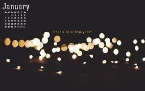 january 2018 new year desktop