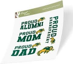 Amazon Com North Dakota State University Ndsu Bison Thundering Herd Ncaa Sticker Vinyl Decal Laptop Water Bottle Car Scrapbook Family Full Sheet Arts Crafts Sewing