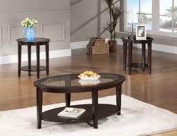 beverly furniture oval modern glass 3