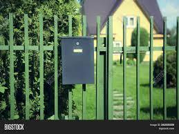 Mailbox Hanging On Image Photo Free Trial Bigstock