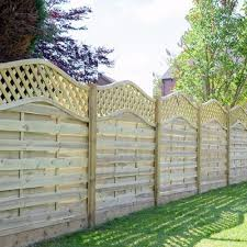 Wooden Garden Fence Panel Trellis Fencing Panel 6ft 5ft 4ft 3ft Garden Patio Garden Fencing Fence Panels Ebay Fence Panels Wooden Fence Panels Fence