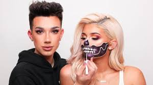 doing kylie jenner s halloween makeup