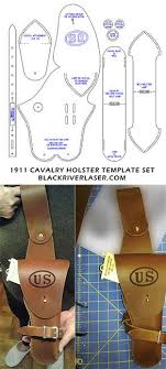 1911 45 cal army cavalry holster