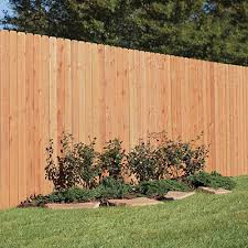 Wood Fence Posts Wood Fencing The Home Depot