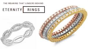 meaning that lingers behind eternity rings
