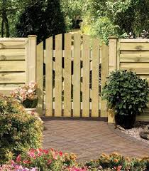 instructions for a wooden garden gate
