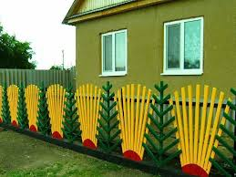 beautiful fences in the countryside