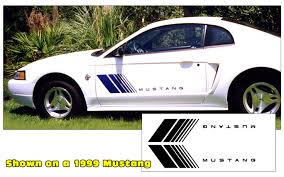 Graphic Express Mustang Fader Decal Mustang Name