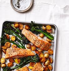 Sheet Pan Salmon With Potatoes and ...