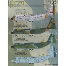Fcm 44035 Lockheed C 130 Hercules Brasil 2 Vers Decals 1 144 The Largest Choice With 1001hobbies Com