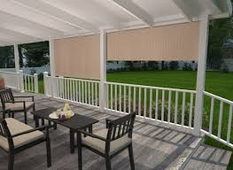 outdoor roller shades and exterior roll