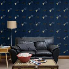 Utah Jazz Nba Wall Decal Home Decor Vinyl Sticker