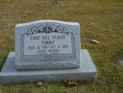 """Addie Hill """"Tommie"""" Marks Yeager (1926-2011) - Find A Grave Memorial"""