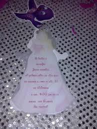 12 Invitacion Con Cadenita Bella Durmiente Princesa Aurora
