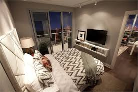 condo bedroom bedroom tv wall