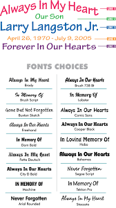 Vinyl Die Cut In Loving Memory Car Decals Starting At 12 99 Each Signature Series Decals In Loving Memory Car Window Decals