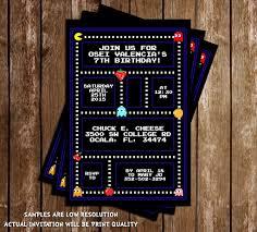 Resultado De Imagen Para Invitacion Cumpleanos Pacman Fiestas De