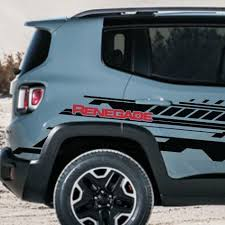 Graphics Bonnet Climber Car Sticker Side Skirt Stripe Decal For Jeep Renegade Archives Midweek Com