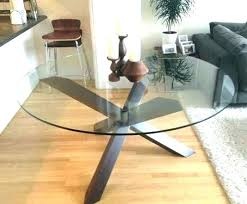 60 inch glass table top round