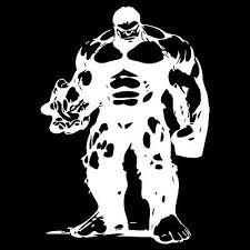 Incredible Hulk Custom Car Decal Sticker 7 X 10 Ebay
