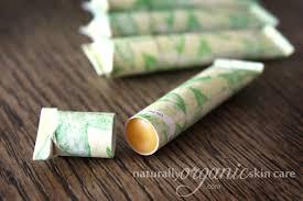 homemade lip balm recipe eco friendly