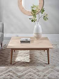 chevron oak coffee table