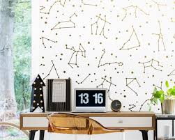Zodiac Constellation Wall Decals Constellation Decor Zodiac Gift Star Decals Zodiac Decor Constellation Art Gift For Home Celestial