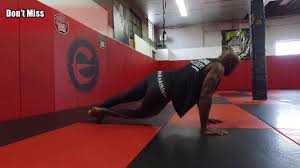 mma grappling bodyweight workout by