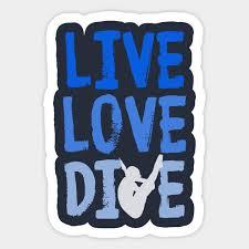 live love dive funny springboard diving