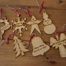 40 wooden christmas decorations all