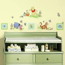 Roommates Winnie The Pooh Peel Stick Wall Decals Buybuy Baby