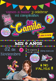 Soy Luna Invitacion Pizarra Digital 85 00 En Mercado Libre