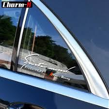 Car Styling Reflective Sport Window Decal Sticker For Mercedes Benz W203 W204 W205 W210 W211 W212 W124 W163 Glc Cla Accessories Car Stickers Aliexpress