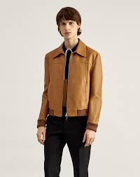 men s leather er jacket dunhill