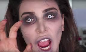 zombie makeup tutorials easy saubhaya